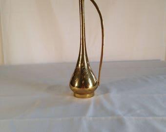 Skinny Gold Vase