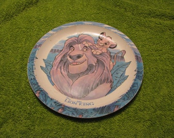 The Lion King Childs Plate 1994.