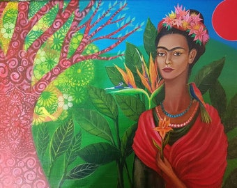 Frida and the Tree of Life Giclee print