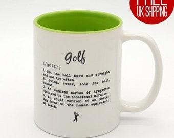 Golf definition Mug - Two Tone