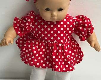 "American Girl Bitty Baby 15"" Doll Outfit"