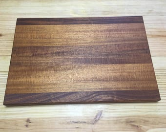 Mahogany Cutting Board