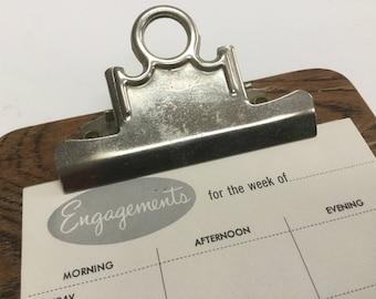 Vintage  clip board  Small