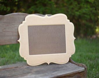 Picture frame,Diy frame, wooden frame, rustic frame, unpainted frame,unfinished frame.blanks,wall art,custom,picture frames,