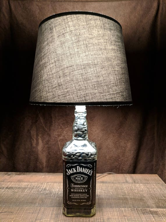 Jack daniels tennessee whiskey bottle lamp aloadofball Images