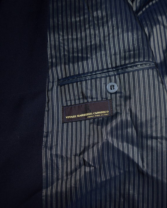 blazer buttons blazer Vintage jacket in coat Made Wool gents Italy blazer Men Formal Suit Golg Sport Mens xPXWzw