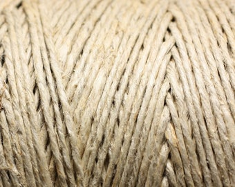 5 Metters - wire cord 1.5 - 2 mm Ecru 4558550005250 hemp twine