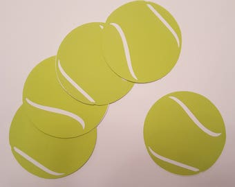 Tennis Die Cuts