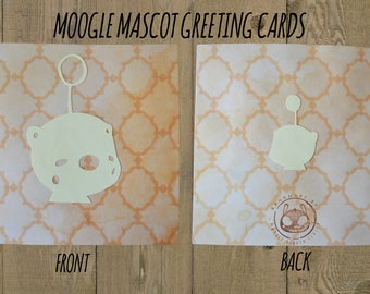 Moogle Mascot Greeting Cards - Valentine's Themed