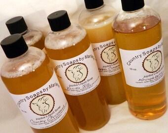 Apple Cinnamon Liquid Hand Soap 16 oz refill size