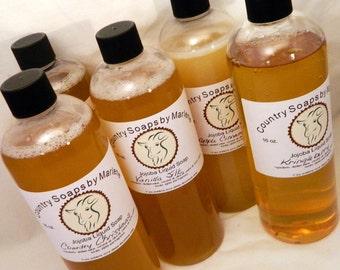 White Tea Liquid Hand Soap 16 oz refill size