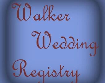 Berry Bowl Walker Registry