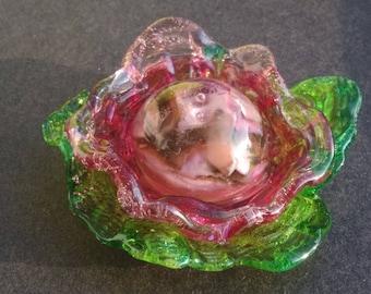 Spun glass flower collection