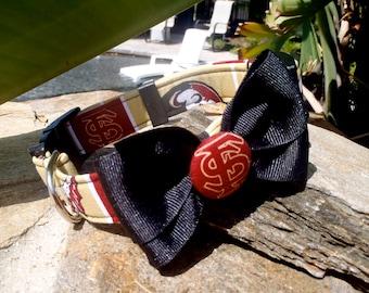 FSU Collar With Bow