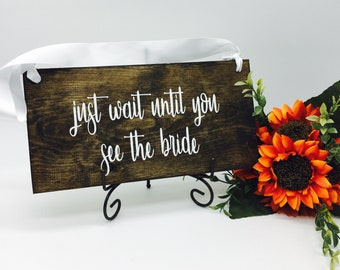 Wedding Signs - Ring Bearer Sign - Rustic Wedding Signs - Wedding Decor - Rustic Wedding Decor - Rustic Wedding - Wood Signs -Rustic Wedding