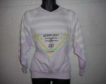 Vintage 80s 90s Gitano Aeroflight Sweatshirt M/L
