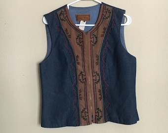 Western style vest