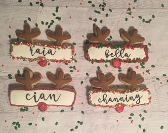 Rudolph the Red Nose Reindeer Name Plaque