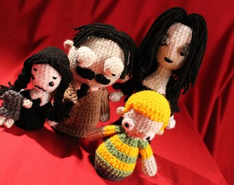 Los Stuffies familia Addams