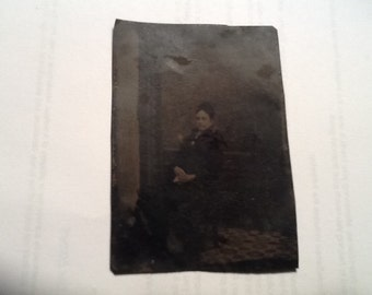 Old Tin Type Picture