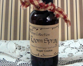 Sugar Cookie Room Spray KP Primitive Home Collection 4 oz Air Freshener