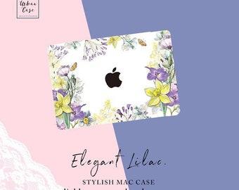Elegant Lilac Mac Case