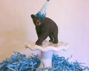 Bear Cake Topper Party Animal