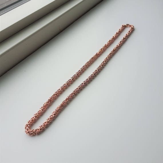 Byzantine Rope Necklace - CLEARANCE PRICE