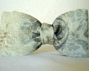 Mens Fashion Bow Tie , Marbled Pre-tied Clip-On , Boys Bowtie , Menswear  , Gift for Him , Stocking Stuffer