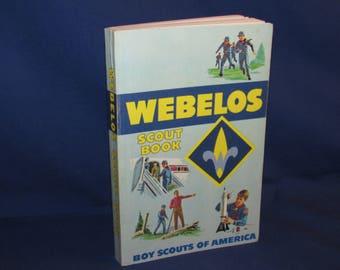 WEBELOS SCOUT BOOK 1984 Boy Scouts Manual
