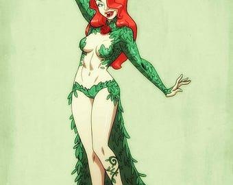 Poison Ivy: Haunted Arkham