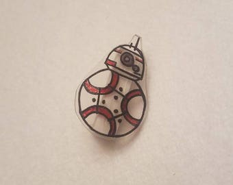 BB8 inspired pin