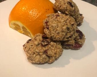 Cranberry orange lactation cookies