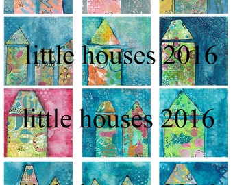 Little Houses #3 from A Work of Heart