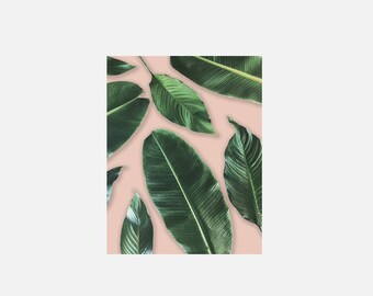 Leaf Lovers (Peach) Print