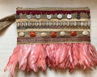 clutch,natural clutch,handbags,bohemian clutch,evening clutch,summer clutch,boho clutch,natural,clutch purse,purse,clutch bag,handmade