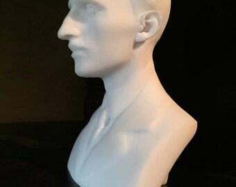 Nikola Tesla Marble Bust