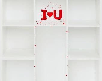 Love Valentine Digital Backgroundd