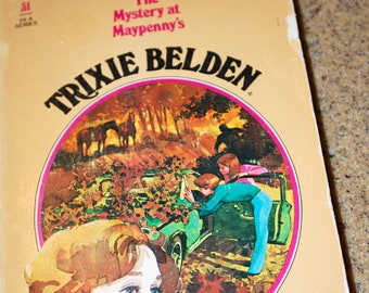 Trixie Beldon and the Mystery at Maypenny's 1980 paperback edition