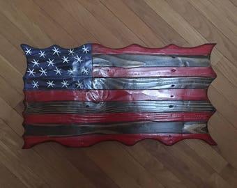 Rustic Wavy Flag