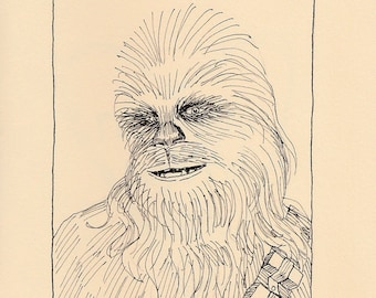 Wookie Love, 6 Pack with Envelopes, Illustrated by Rachel Anna DeVona