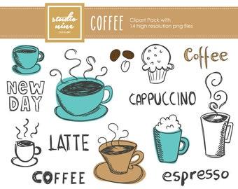 Coffee Clipart Set