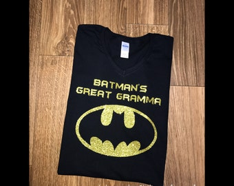 Batman Birthday Family Shirts