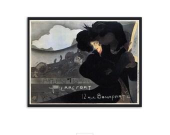 Vintage Art nouveau poster - Pierrefort - Georges de Feure - Art Nouveau print, Vintage ads, P019
