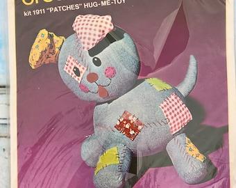 Vintage Bucilla Creative Needlecraft PATCHES Hug Me Toy Kit 1911