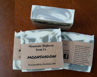 Moonshadow - natural sea clay soap