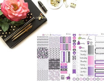 Bling Kit// MINI HP Weekly Kit// 2 sheets of planner stickers