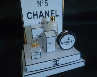 "Shop display ""Chanel"" 1/12th scale."