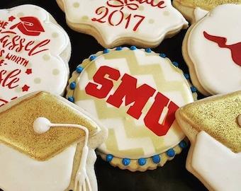 SMU Decorated Sugar Cookies