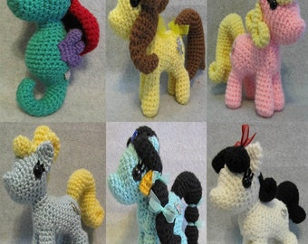 50% OFF~ Chibi Princess Pony Pattern Package